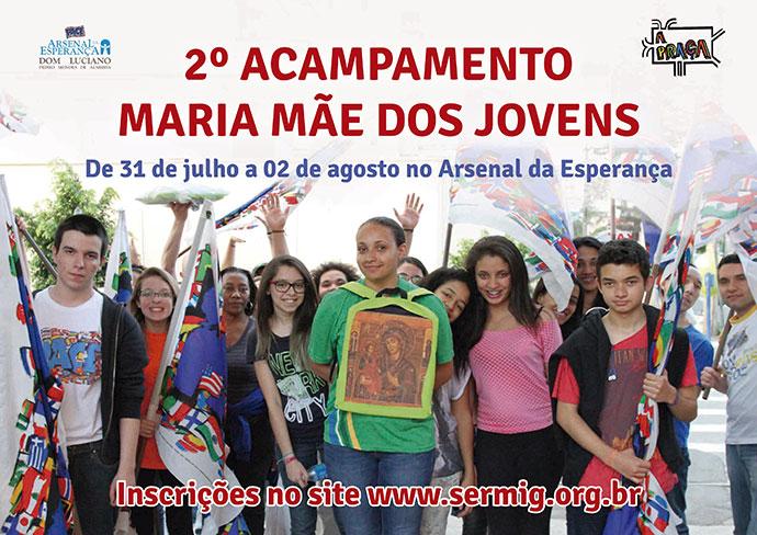 2° ACAMPAMENTO Maria Mãe dos Jovens