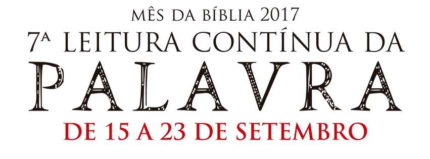 Setembro, Mês da Bíblia, hora de dar voz à Palavra!