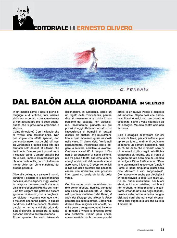 Editoriale Ottobre 2012