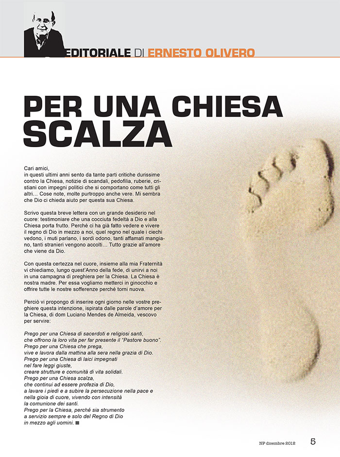 Editoriale Dicembre 2012