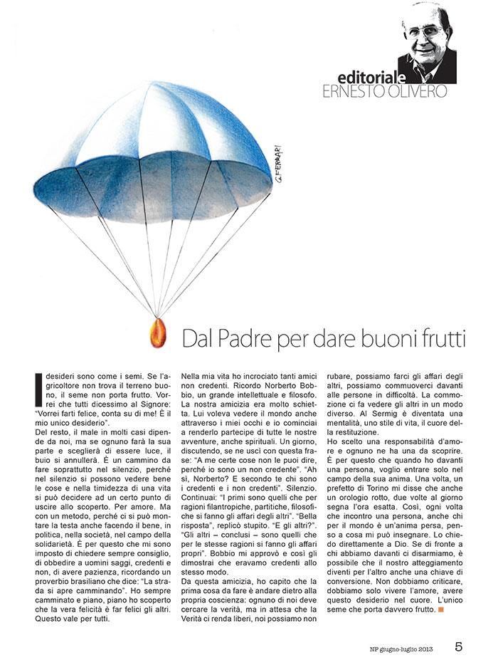 Editoriale Giugno / Luglio 2013