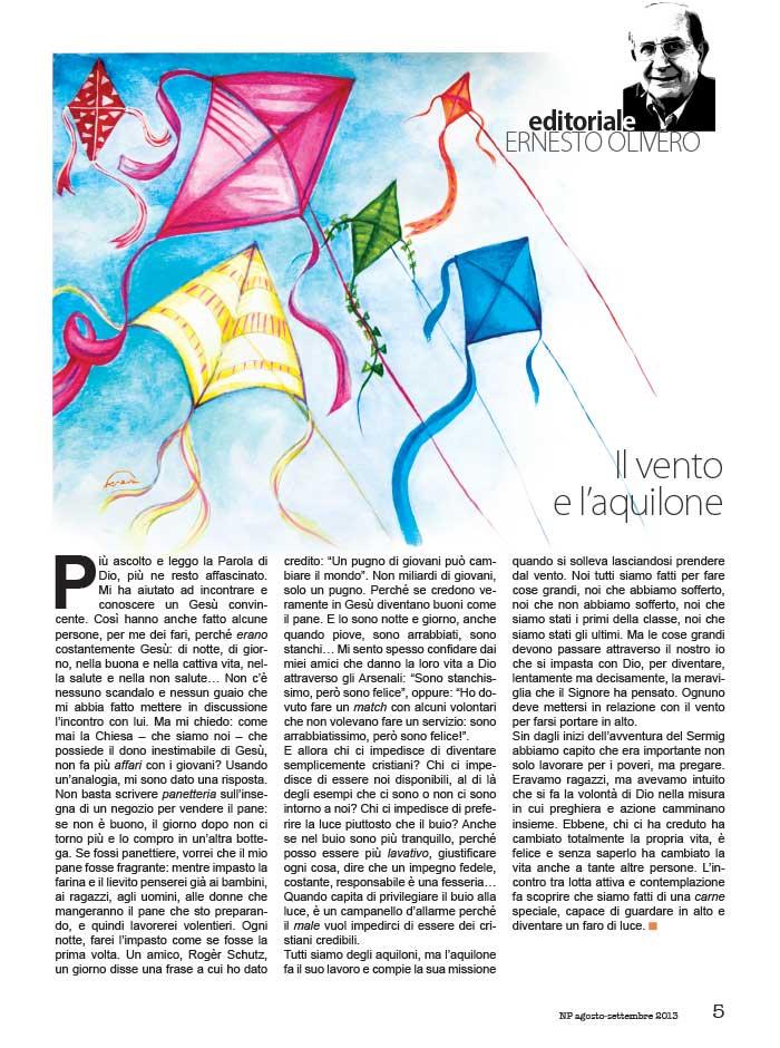 Editoriale Agosto / Settembre 2013