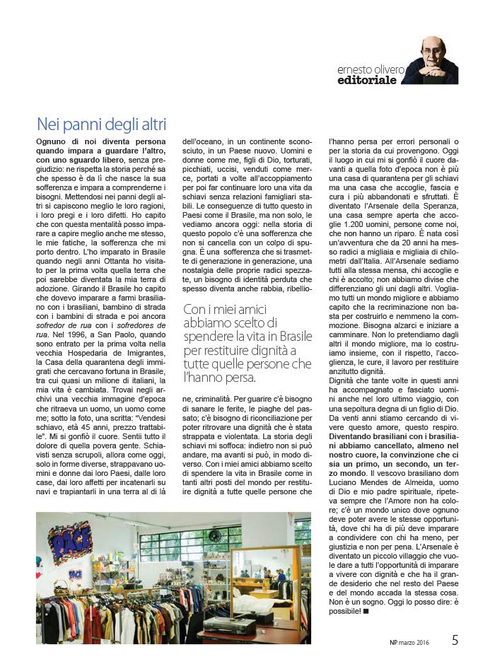 Editoriale Marzo 2016