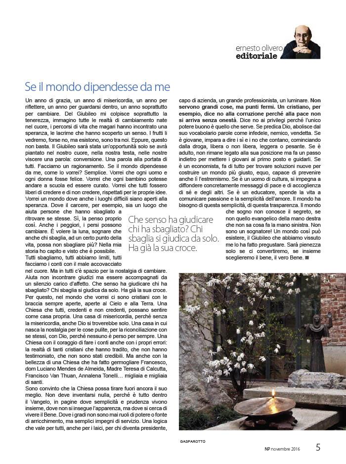 Editoriale Novembre 2016