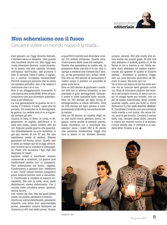 Editoriale Gennaio 2017