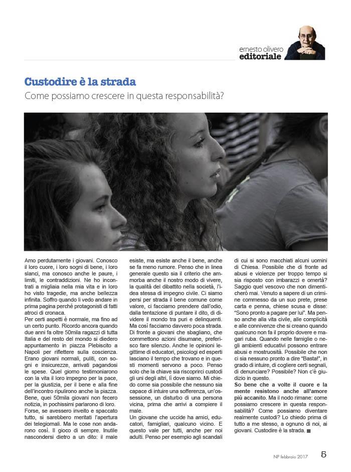 Editoriale Febbraio 2017