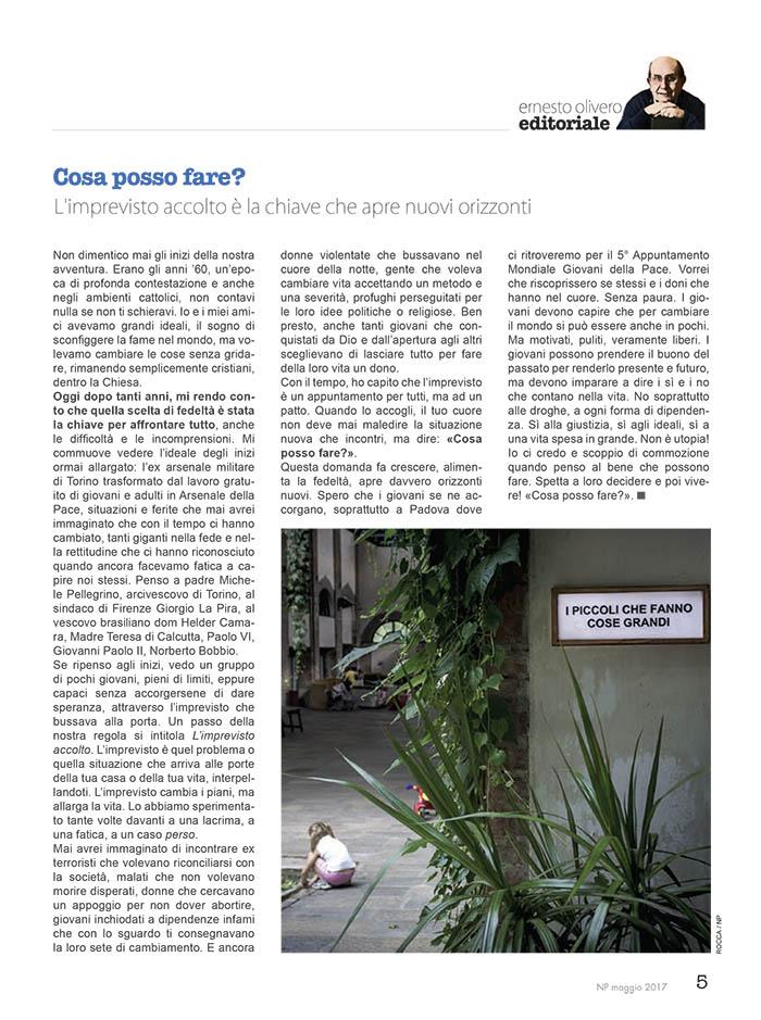 Editoriale Maggio 2017
